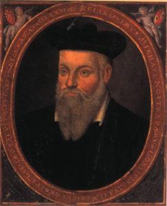 Nostradamus im Alter von 63 Jahren