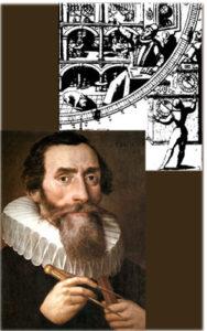 Brahe in der Sternwarte Quelle:Astronomie, J.Herrmann Porträt: Johannes Kepler Quelle: wikimedia